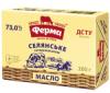 Масло сладкосливочное селянское ТМ «Ферма», 73%