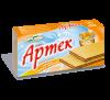Вафли «Артек» с вареным сгущенным молоком ТМ «Золотое зерно»