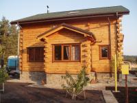 Строительство деревянного дома Новые Петровцы 124