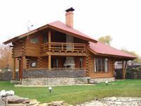 Строительство деревянного дома Макс 154