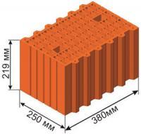 Блоки керамические пористые крупноформатные