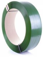 Зелёная лента упаковочная (стреппинг лента)