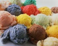 Мороженое на основе плодов и ягод
