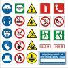 Знаки пожарной безопасности, электробезопасности, знаки по охране труда,