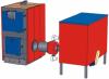 Промышленные твёрдотопливные котлы с автоматизацией подачи топлива KALVIS 100MD