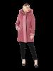 Пальто, полупальто, накидки и аналогичные изделия трикотажные женские и девичьи