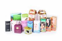 Упаковка картонная для пищевых и промышленных товаров