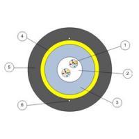 Кабели волоконно-оптические с центральной трубкой