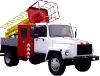 Автовишка телескопічна ТВГ-15Н