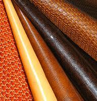 Материал обувной с поливинилхлоридным покрытием