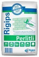 Стартовая гипсовая штукатурка с перлитом изогипс Rigips Perliti для внутренних работ.